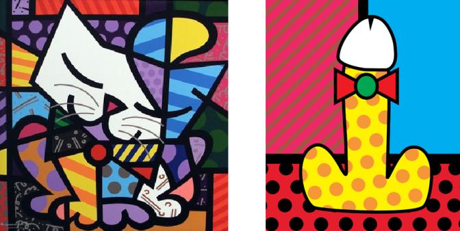 Artistas brasileiros criam pênis nos traços de gênios da arte