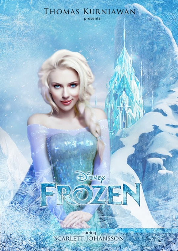 b elsa - frozen
