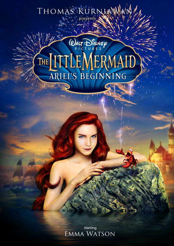 poster mermaid