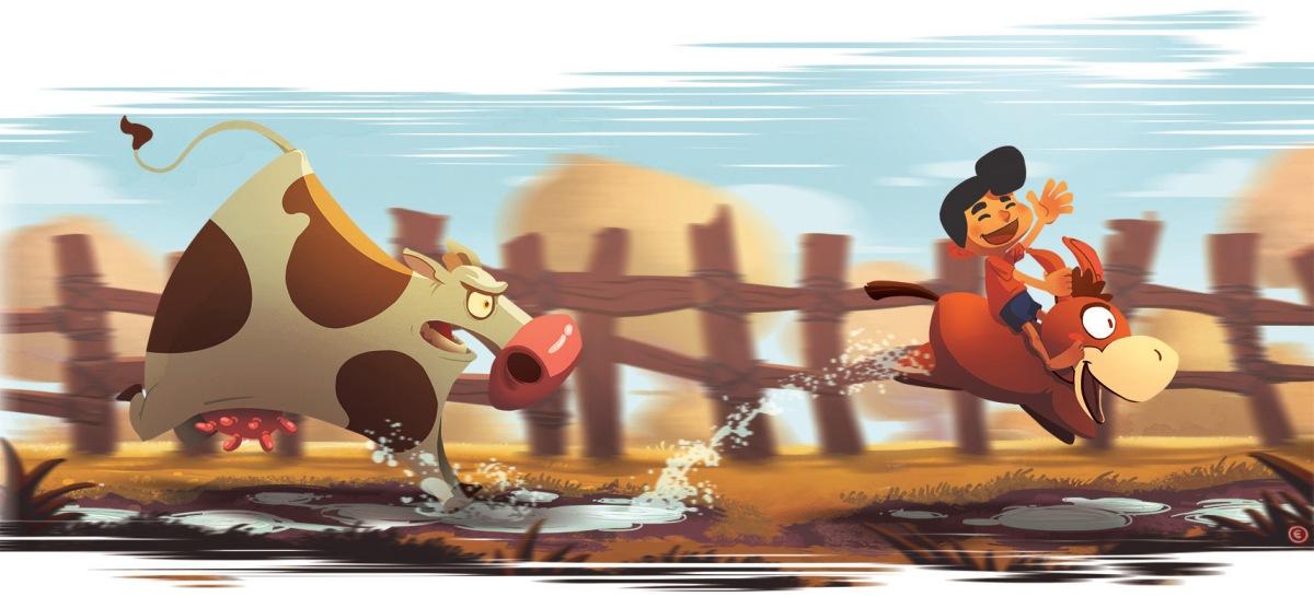 Ilustrador Eduardo Vieira desenha para esquecer as pressões do dia-a-dia