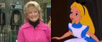 Você acreditaria que esta mulher é a Alice?